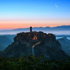 Civita di Bagnoregio by *AlexGutkin on deviantART