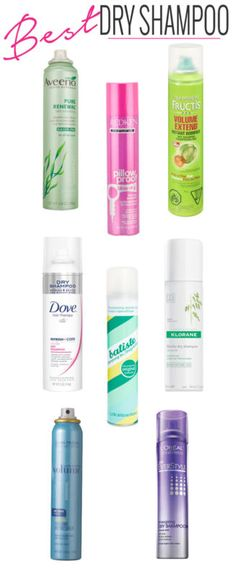 Best Dry Shampoos  (I have tried Batiste and it's amazing. Maybe will try some of the others, redken seems promising)