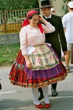 Dunántúli- Sárközi népviselet-Hungary