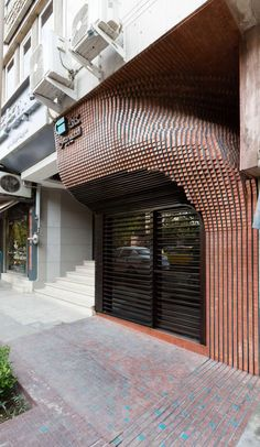 HOOBA DESIGN GROUPHooba Design was established in 2009 by architect Hooman Balazadeh inTehran.Hooba design focus on developing the interactive role of the. Design Entrée, Brick Design, Facade Design, Exterior Design, Architecture Paramétrique, Amazing Architecture, Contemporary Architecture, Brick Art, Koh Chang