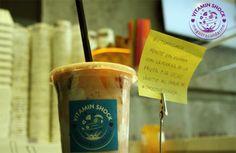 Ponte en forma con la fuerza de la fruta y de la leche. En marcha con SmoothiesShock www.valencianashock.com