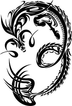 Tribal Capricorn Tattoos Design
