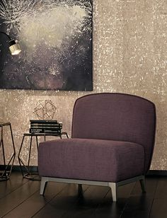 Design by Opera Design for Flou. Steel structure with bronzed finish. Various fabric options available. Bedroom Furniture, Bedroom Decor, Black Floor Lamp, Small Sofa, Steel Structure, Modern Interior Design, E Design, Home Accessories, Love Seat