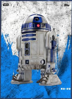 R2-D2 trading card star wars
