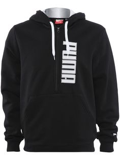 Puma Men's Holiday 1/2 Zip Hoodie $49.99