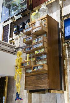 Glasgow shopfit for Ted Baker by Prop Studios #RetailDesign #VisualMerchandising