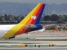 Air Pacific Fiji 747 - 400 at LAX