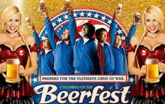 """Like smoking, drinking has also become a popular symbol of masculinity. This is an ad for the movie """"Beerfest."""" It shines a fun light hearted comedy on abusive drinking. Drinking is fine in a social form but abusive drinking has continuously become """"cool"""" and a popular way to portray masculinity among men. I completely disagree with this."""