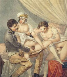 What necessary vintage erotic art painting