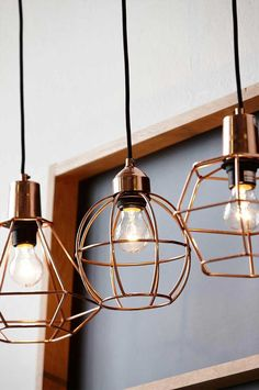 Beuatifull! See more Copper inspirations at http://www.brabbu.com/en/inspiration-and-ideas/ #CopperLighting #CopperDesign #CopperDecoration