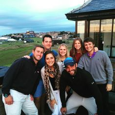 Great time at the old course hotel with this crew now we just have to get the Claret Jug #theopen