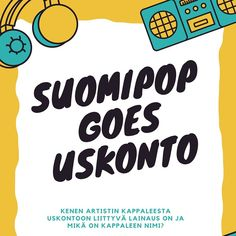 Suomipop goes uskonto -musavisa: Klikkaa auki kuvasta | Pearltrees