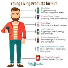 Young Living is just essential oils. Here's a small list of products that men ca. Young Living is Essential Oil For Men, Oils For Men, Lemon Essential Oils, Young Living Essential Oils, Essential Oil Blends, Young Living Supplements, Therapeutic Essential Oils, Oils For Sleep, Young Living Oils