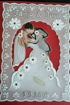 Handmade Crafts, Diy And Crafts, Paper Crafts, Parchment Cards, Paper Lace, Outdoor Christmas, Wedding Cards, Card Making, Gift Wrapping