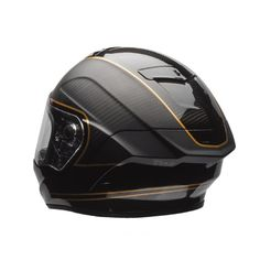 #Bell #Race #Star #Ace #Cafe #Schwarz #Gold #Motorradhelm Buy yours on www.helmade.com