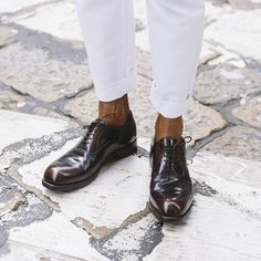 Details of #MWFW day 5 featuring GWD's editor in chief sporting his new @wearepreventi shoes   Follow @wearepreventi for more inspiration   ph. @matteobianchessi   #GWD #BuildYourOwnStyle #Menswear #Menswear #style #stylish #love #dandy #dandism #MadeOfItalians #DiscoverItaly #Milano #connoisseur #inspiration #research #details #sprezzatura #accessories #shoes #shoesporn #preventi #GWDLovesPreventi #globalNomads by gentlemen_wear_daily