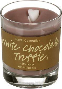 Cosmetics White Chocolate Truffle Gl Candle 15 95