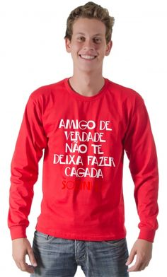 Dica #palcofashion #Camiseta - Amigo de verdade #moda #fashion