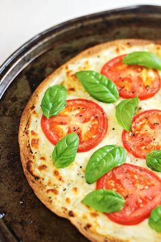 Easy Dinner Idea: Caprese Tortilla Pizzas