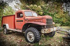 Power Wagon by Jim Love Ram Trucks, Dodge Trucks, Cool Trucks, Fire Trucks, Pickup Trucks, Vintage Cars, Antique Cars, Dodge Power Wagon, Fire Apparatus