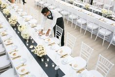A heart stopping private property was the backdrop for Emel + Ersan's big day! Private Property, Marquee Wedding, Backdrops, Table Decorations, Black And White, Ali, Events, Style, Black White