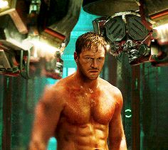 And, because when he takes his top off, all is right with the world. | 31 Times Chris Pratt Was Perfection In Human Form