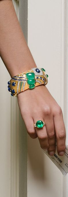 Seaman Schepps Jazz Cuff and Ring | LBV ♥✤ | KeepSmiling | BeStayElegant