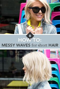 It can be easy to fall into a hairstyle rut when you have short hair. Adding undone waves into your routine is a super easy way to switch up your style. Equal parts chic and casual, a wavy bob can work dressed up for a special occasion or dressed down for a lazy afternoon. In fact, it's our editor Lorelei's go-to style for spicing up her bob haircut. Learn how to create her favorite soft waves in this tutorial…