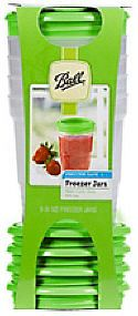 Ball Freezer Jars - freeze smoothies and put them in school lunch bags. They'll thaw by the time it's lunch time.