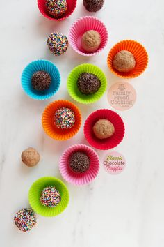 How To: Classic Chocolate Truffles | FamilyFreshCooking.com @Marla Meridith