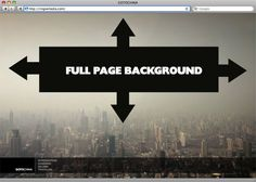 Perfect full page background image in CSS or with jQuery. Web Design Tips, Web Design Trends, Web Design Tutorials, Web Design Inspiration, Page Design, Background Css, Background Images, Web Layout, Webpage Layout