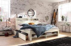 Home affaire Stauraumbett » Nara, Entryway Bench, Bunk Beds, Modern, Design, Furniture, Home Decor, Kiefer, Products