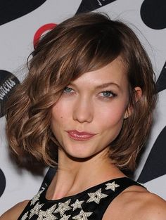 Karlie Kloss bob haircut. For when I decide to cut my hair again.