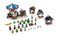 LEGO Creator Expert 10235 Winter Village Market: Toys & Games
