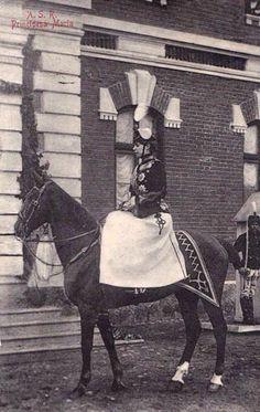 Crown Princess Marie of Romania wearing the uniform of the Rosiori (light cavalry / red hussars) Regiment as Colonel-in-Chief. She was the honorary commander of this unit. Romanian Royal Family, Edinburgh, Riding Helmets, Marie, The Past, Royalty, Horses, Princess, Descendants