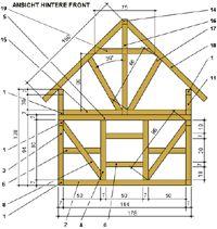 bauplan dachger st vakbouwwerk pinterest spielhaus f r kinder fachwerk und spielhaus. Black Bedroom Furniture Sets. Home Design Ideas