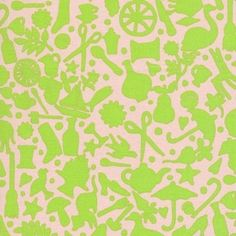 Rowan Kaffe Fassett Folk Art Lime Quilting Fabric By The 1/2 Yard