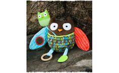 KNUFFEL TREETOP FRIENDS UIL SKIP HOP - ontwikkeling baby, activity toy | De Boomhut
