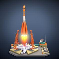 Vostok 1  https://skfb.ly/6tyou