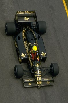 1986 Ayrton Senna , JPS Lotus Renault 98T Best driver ever from the era of real motorsports