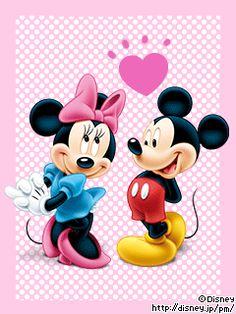 """I can just hear Mickey now. """"Ha ha! Hiya Minnie!"""" <3"""