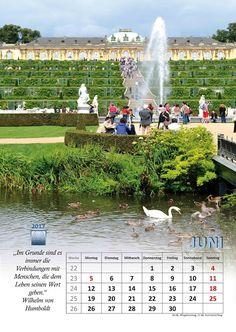 Selbstgemachtes und Kreatives: Kalenderblatt 2017 Juni