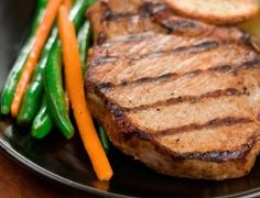 This Pork Chops recipe is great for the Ideal Protein program.