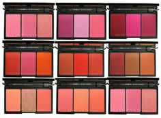 SLEEK Blush By 3 Palette All Shades