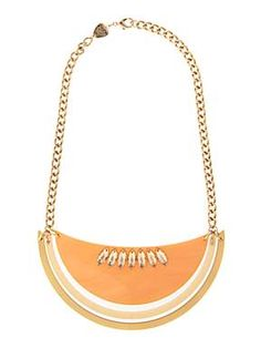 TATTY DEVINE  Large Melon Cantaloupe Necklace
