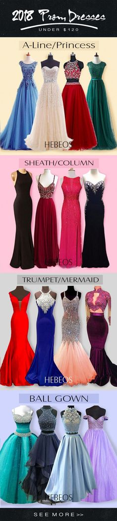Looking for prom dress ideas to inspire you for the big night? Find the latest 2018 prom trends and hottest dress styles with HEBEOS prom advice & photo gallery!