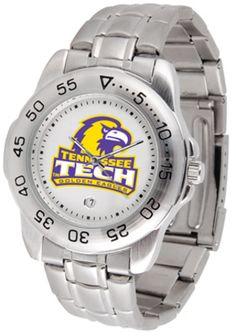 Tennessee Tech Golden Eagles Sport Steel Band Men's Watch: This handsome, eye-catching watch… #SportingGoods #SportsJerseys #SportsEquipment