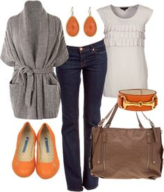 """""""pumpkin spice"""" by htotheb on Polyvore"""
