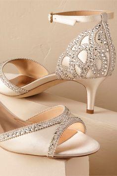 BHLDN Chaumont Heels in  Bride Bridal Shoes & Accessories | BHLDN