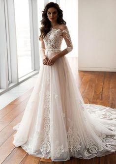 Modest Wedding Dresses With Lace 2019 Wedding Dress Trends Wedding Dresses With Lace 2019 Wedding Dress Trends Wedding Dress Trends, Modest Wedding Dresses, Cheap Wedding Dress, Bridal Dresses, Elegant Dresses, Tulle Wedding, Wedding Ceremony, Boho Wedding, Luxury Wedding